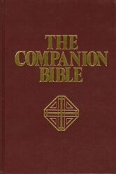Book By E. W. Bullinger The Companion Bible King James Version . . Books New