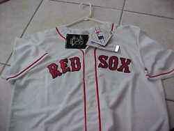 Josh Beckett Signed Boston Red Sox Majestic Authentic Game Jersey