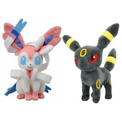Umbreon Sylveon Plush Doll Soft Stuffed Animal Toy Kids Xmas Gift 8quot;