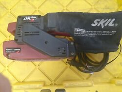 Used Skil 7313 Electric Corded Belt Sander 4.5 Amp Auto Track Control Great Con