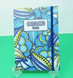 Crossword Puzzle Book With Elastic Band Closure 7 X 5 Purse Size Volume 024