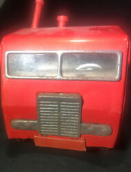 Vintage Aandp Semi Truck 18 Tin And Plastic Toy Truck - Made In Japan