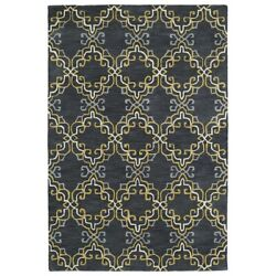 Kaleen Rugs Melange Area Rug Graphite 5and039x7and0399 - Mlg06-68-579