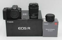 Canon Eos R Mirrorless + Canon Rf 24-105mm F/4-7.1 Is Stm + Eos R Mount Adapter