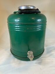 Vintage Metal Porcelain Thermos/water Cooler/for Hot Or Cold E799