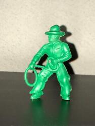 Lido Cowboy With Lasso Green Plastic 1950s-1960s