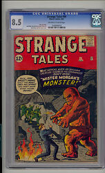 Strange Tales 99 Cgc 8.5 Vf+ Unrestored Atlas Marvel Scarce Ow/w Pages