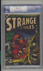 Strange Tales 19 Pgx 6.0 Fn Unrestored Atlas Marvel Scarce Cr/ow Pages