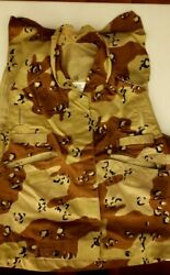 Cover Vest Pasgt Desert Camo Us Army Usa Camouflage Nwot