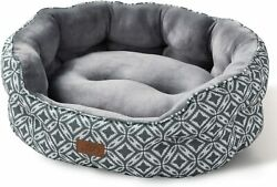 Dog Bed Fluffy Soft For Calming Sleeping Indoor Warm Calming Cuzy Bed Washable $34.99
