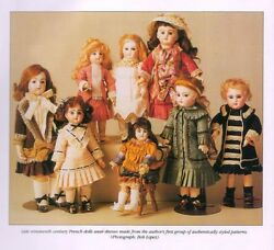 Collection Antique French Bru/jumeau Doll Dress Pattern Variations Ackerman