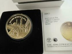 Israel 2010 Unesco Heritage Sites Series Old Akko Proof Coin 1/2 Oz Fine Gold