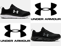 Under Armour UA Men#x27;s Charged Assert 8 4E Wide Running Shoes Sneakers 3022641