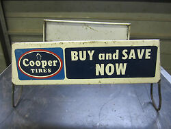 Cooper Tires Store Display Sign Auto Truck Gas Station Advertising Repair Shop