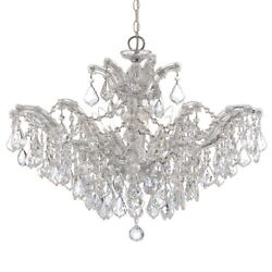 Crystorama Maria Theresa Chandelier Clear Crystal Spectra 4439-ch-cl-saq