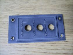 Evinrude Johnson Selectric Shift Switch Cover 206403 Outboard Boat Motor