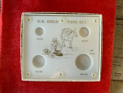 Capital Plastic 420g Gold Type Set-4 Holes Gently Used