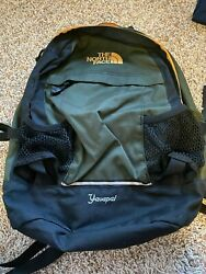 Northface Backpack Green Black Yellow Yavapai $35.00