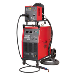 Sealey Pro Mig Welder 250a 415v3ph With Binzeleuro Torch And Portable Wire Drive