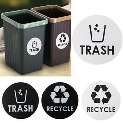Hot Garbage Organize Containers Walls Recycle / Trash Sticker Home Decor