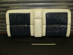 Oem 1988 Cadillac Coupe Deville Fwd Spring Edition Back Rear Upper Seat Cushion