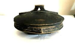 Antique Bowl Hand Carved Zambia African S Estate Find Food Bowl
