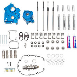 Sands 540 Chain Drive Oil Cooled Cam Plate Oil Pump Camchest Kit Harley Touring M8