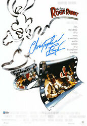 Christopher Lloyd Signed Autograph 12x18 Who Framed Roger Rabbit Photo Bas 2
