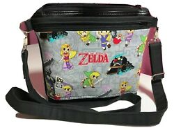 Zelda Vinyl Crossbody Over the Shouler Purse Bag Handbag Pink Kiss Purse $75.00