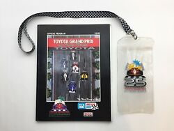 Toyota Grand Prix Of Long Beach 25th Anniversary Official Program And Lanyard 1993