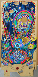 Bally - Circus Voltaire - Pinball Playfield Nos - Priced @ 350 No Clear Coat