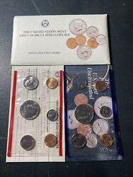 1989 Annual Us Mint Set P And D Uncirculated 10 Coin Set Complete Bu