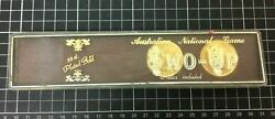 The Australian National Game - Two-up Set With 22ct Gold Plated Coins / Pennies