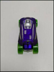 Hot Wheels 2014 Vandetta Purple With Green Tires Diecast Toy Car Used