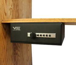 V-line Slide Away Personal Home Security Safe. Protect Valuables, Jewelry, Guns