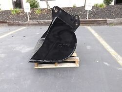 New 48 Grading Bucket For A John Deere 310 Sk With Coupler Pins