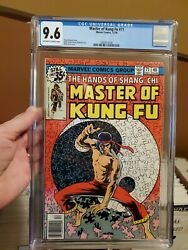 Master Of Kung Fu 71 - Cgc 9.6 - Shang-chi - Iconic Mike Zeck Yin Yang Cover