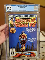 Master Of Kung Fu 125 Shang-chi 1983 Scarcer Last Issue Cgc 9.6