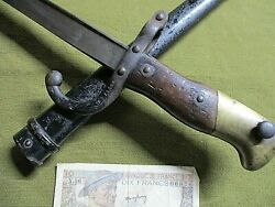 Imperial French M 1875 Bayonet - Antique