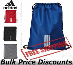 Adidas School Outdoor Vertical 3 Stripes Gym Sack A420 15quot;w x 19quot;h $17.14