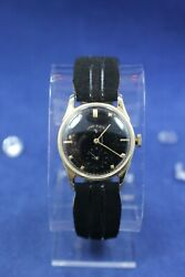 Lord Elgin Vintage Solid 14k Gold Watch Case I.w.c Co. Running- As Is Read