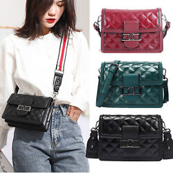 Fashion Quilted Handbags Crossbody Bag Women Messenger Purse Charm Shoulder Bag $16.99