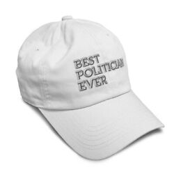 Soft Women Baseball Cap Best Politician Ever Embroidery Dad Hats for Men $14.99