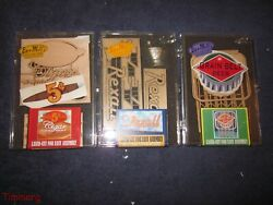 3 Bar Mills O Scale Laser Cut Billboard And Signs Accessory Kits New