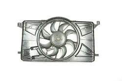 12 - 17 Ford Focus Oem Radiator Cooling Fan Assembly With Module 1137328567 Oem