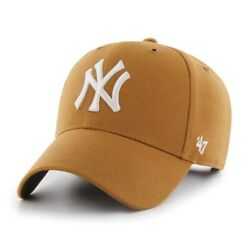 New York Yankees #x27;47 Carhartt Mens Brown MVP Adjustable Hat