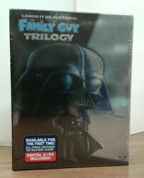 Laugh It Up, Fuzzball The Family Guy Trilogy Blu-ray, 2010 Factory Sealed