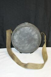 Vintage 1918 Canteen Round Old Bear Brand
