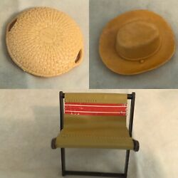Marx Best Of The West Johnny West Lot Of Cowboy/indian Miscellaneous Accessories