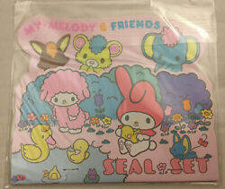 Rare Vintage Sanrio 1976 My Melody And Friends Seal Set Sheets Of Stickers Booklet